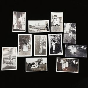 Lot of 11 photographs from the 1920's to 1930's